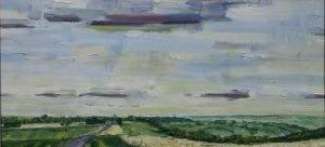 Cotswold landscape painting